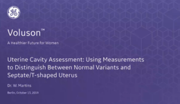 2019 ISUOG - Uterine Cavity Assessment: Using Measurements to Distinguish Between Normal Variants and Septate,T-shaped Uterus (Dr. Martins)