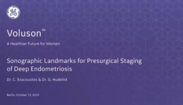 2019 ISUOG - Sonographic Landmarks for Presurgical Staging of Deep Endometriosis (Drs. Exacoustos & Hudelist)
