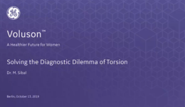 2019 ISUOG - Solving the Diagnostic Dilemma of Torsion (Dr. Sibal)