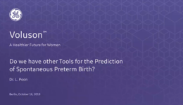 2019 ISUOG - Do we have other Tools for the Prediction of Spontaneous Preterm Birth (Dr. Poon)