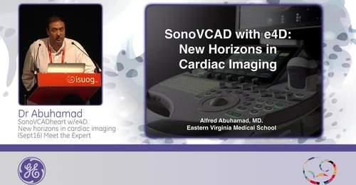 ISUOG 2015: Dr. Abuhamad: SonoVCADheart with e4D