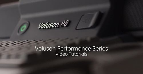 Voluson Performance Series: Getting Started